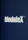 "Company name changes to ""ModuleX Inc."""